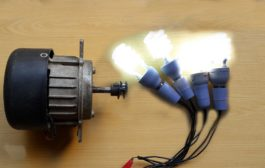 How To Make Free Energy Generator 220V From Washing Machine Motor...