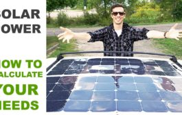 Off Grid Solar Power - How to Calculate Your Needs...