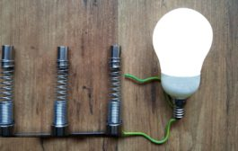Scaling free energy generators. Feeding LED bulb with two free en...