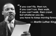 """""""You have to keep on moving forward""""..."""