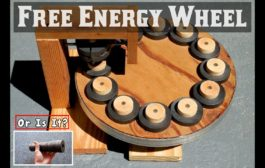 FREE ENERGY WHEEL ~ Using Ring Magnets ~ EXPOSED!...