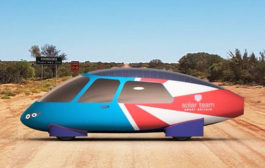 Family-sized Solar Car to Race in World Solar Challenge...