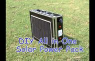 DIY All in One Portable Solar Power Pack...