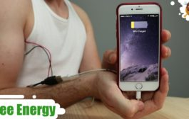 Charge your Phone with your Body  -  ( Free Energy )...