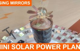 MINI Concentrated SOLAR POWER PLANT...