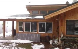 Off Grid Living: Surviving Winter on Solar power...