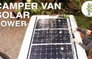 Van Life - Our Amazing Stealth Solar Power Set up!  Off Grid Camp...