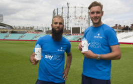 England cricketers aim to help Sky hit plastic waste for six...