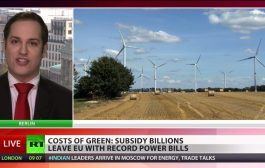 Consumer Burden: German green energy subsidies hurt taxpayers...