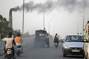 A highway in Jalandhar