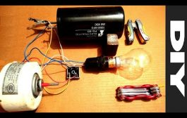 Testing Free Energy Generator from a Dead Induction Motor...