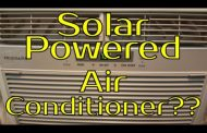Solar Powered Air Conditioner?? - What Would It Take?...