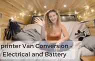 Sprinter Van Conversion - Electrical and Battery (Solar Powered V...