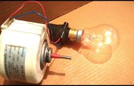 Make a Free Energy Generator from a Dead Induction Motor DIY...