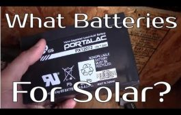 What Type Of Batteries To Use For Solar...