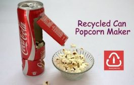 How to Make a Recycled Can Popcorn Machine...