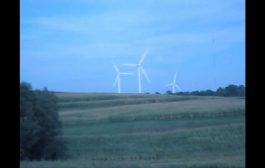 Wind Turbines Windmills Generating Green Clean Energy In Northern...