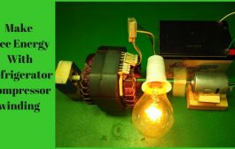 Make Free Energy With Refrigerator Compressor winding And Magnet ...