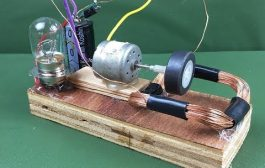 100% Free energy self running machine generator using dc motor 20...