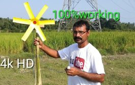 #freeenergy  How to make wind turbine and generator || at your ho...