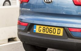 Government reveals plans for 'green number plates'...