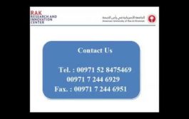 RAK Research & Innovation Center - Training Programes...