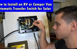 RV Solar Power: How to Install an Automatic Transfer Switch to a ...