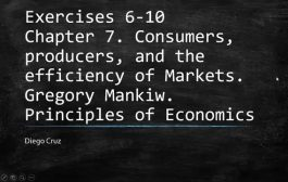 Chapter 7  Exercise 6-10.  Consumers, producers, and the efficien...