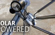 Solar Powered Stirling Engine...