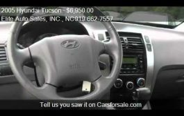 2005 Hyundai Tucson Carfax 1 Owner - for sale in Raleigh, NC...