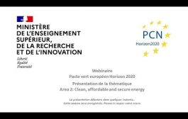 Webinaire Horizon 2020 Green Deal: Area 2: Clean, affordable and ...