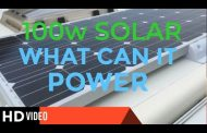 WHAT CAN 100W SOLAR POWER IN THE VAN?...