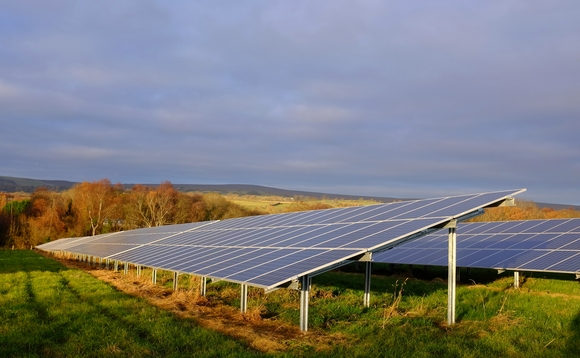 Solar capacity in the UK stood at around 14GW in 2020