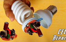 How to Repair CFL Bulb at Home || Repair Compact Fluorescent Ligh...
