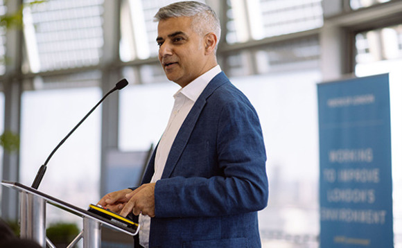 Green jobs were front and centre as Sadiq Khan has launched his election manifesto for 2021