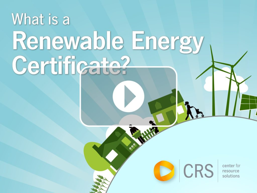 What Is A Renewable Energy Certificate Clean Green Energy