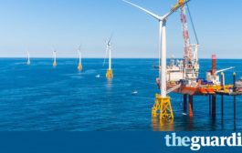 US advances on clean energy with first offshore wind farm...