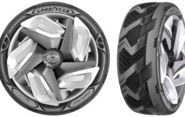 Goodyear Releases Electricity-Generating Tire Concept...