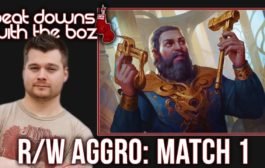 MTG Standard: Red/White Aggro vs Red/Green Energy - Beat Downs wi...