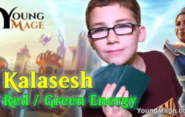 MTG Young Mage Red Green Energy...