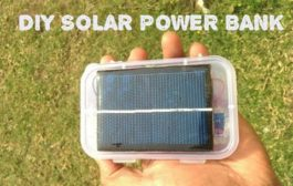 HOW  TO MAKE A SOLAR POWER BANK FROM USED LAPTOP BATTERY...