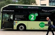 Manchester debuts its first electric bus...