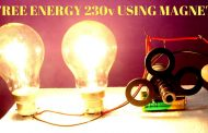 Free Energy Light Bulbs 230v Using Magnet And Two Bulbs - Free En...