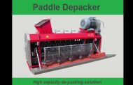Mavitec Green Energy's Paddle Depacker with very clean output; le...