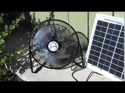 solar fan solar powered plug and play fan clean green energy. Black Bedroom Furniture Sets. Home Design Ideas