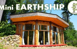 Incredible Mini Earthship Style Cabin - Tiny Off Grid House with ...