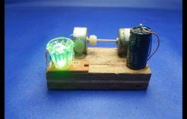 Free Energy Generator Using DC Motor - Science Experiment Project...