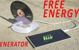 How To Make Free Energy Generator At Home...