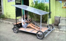 Solar Powered Kart Made in the Philippines...