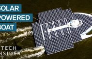 Giant Boat Is Powered Entirely By Solar Energy...